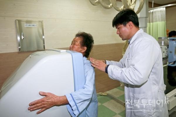 장수군, 의료취약계층 대상 무료 노인건강진단
